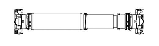kat19022801: ボールスプライン付推進軸