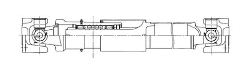 kat19022808: バス用ボールスプライン付推進軸