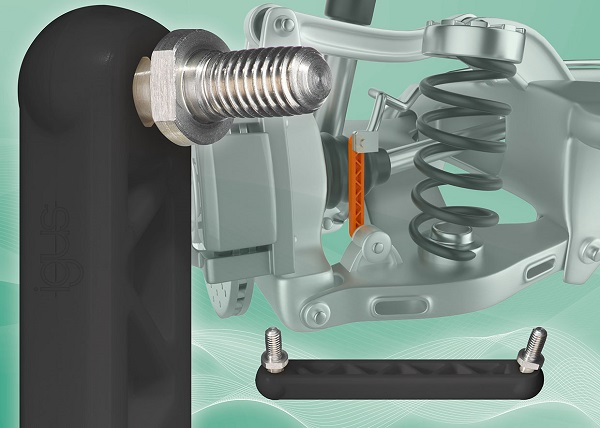 The new igus GPZM coupling joint is not only particularly low-maintenance and lubrication-free, but also prevents the penetration of dirt by choosing a new flexible material. (Source: igus GmbH)